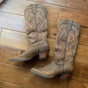 Ariat boots. Like new